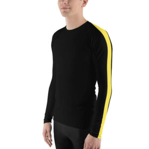 STRIPED! MENS RASH GUARD SPORT SHIRTS